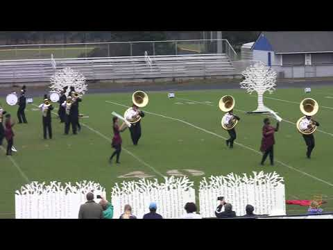 Walter M. Williams High School Marching Bulldog Band 10/20/2018