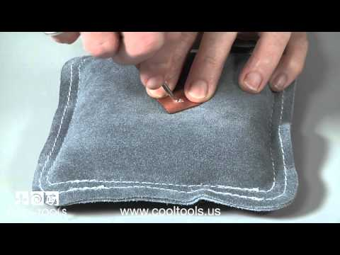 Using A Leather Sandbag
