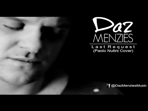 "Daz Menzies performs ""Last Request"" by Paolo Nutini"