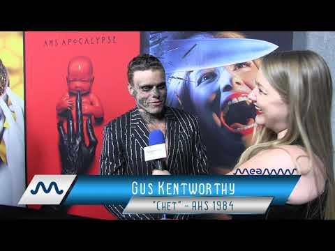 Gus Kentworthy Channels Evan Peters' Season One Look on AHS 100th Episode Red Carpet