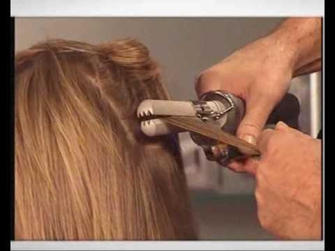 утюжок для волос для прикорневого объема