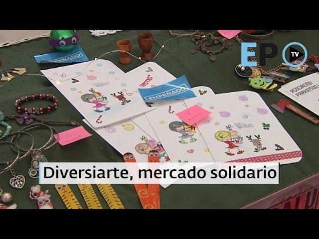 Diversiarte, mercado solidario