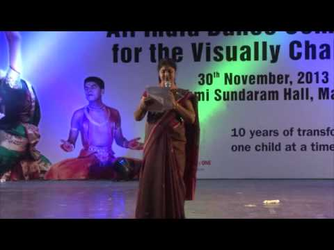 IAB - AOF All India Dance Competition for the Visually Challenged - Madurai 2013