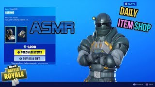 ASMR | Fortnite NEW Sledge Skin and Impact Edge Tool! Item Shop Update 🎮🎧Relaxing Whispering😴💤