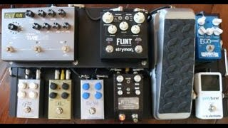 Shawn Tubbs Fly Out  Pedal Board Rundown Demo Video by Shawn Tubbs