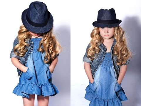4435357f3 احدث موديلات فساتين للبنات لصيف 2017 / اجمل ملابس الاطفال روووعة ...