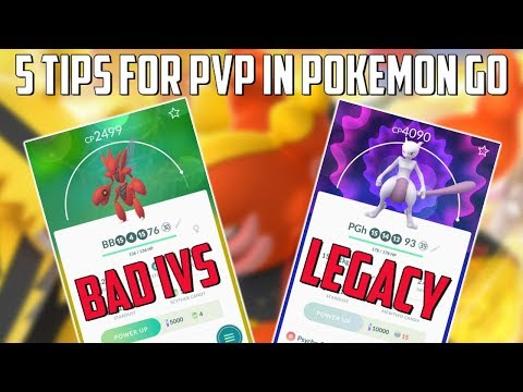Top 5 Tips For PVP In Pokemon Go!