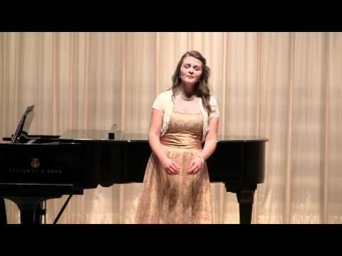 Sarah Locke 's Senior Recital at Oklahoma Christian University  Part 5
