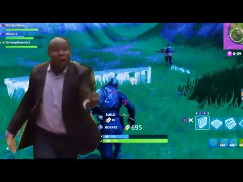 WHY ARE U RUNNING? Fortnite Funny Moment