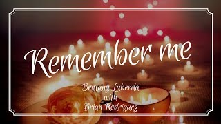 """Remember Me"" - Brittany Luberda Cover"