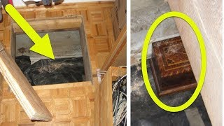connectYoutube - He Finds This Box Hidden Inside A Trap Door In His Closet  What's Locked Inside Unbelievable!