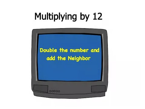 Multiplying by Twelve | Trachtenberg Speed Math