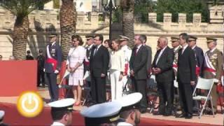 419 personas participan en la Jura de Bandera de Puerta de Palmas - Badajoz Online Tv