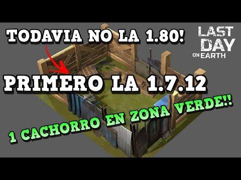 PRIMER CACHORRO EN ZONA VERDE..! INFO 1.7.12 | LAST DAY ON EARTH: SURVIVAL | [RidoMeyer]