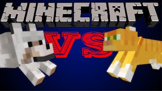 Cats VS Dogs - Minecraft