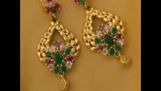 Treditional Maharashtrian Braidal Gold Earrings Collection||New Designer Collection 2018-2019||