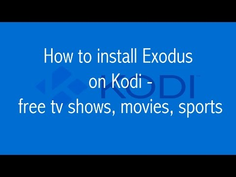 HOW TO WATCH MOVIES, TV SHOWS ON KODI, RASPBERRY PI, PI 2, B+, EXODUS ADDON