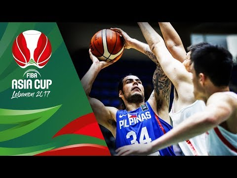 HIGHLIGHTS: Gilas Pilipinas vs. China (VIDEO) FIBA Asia Cup 2017 | August 9