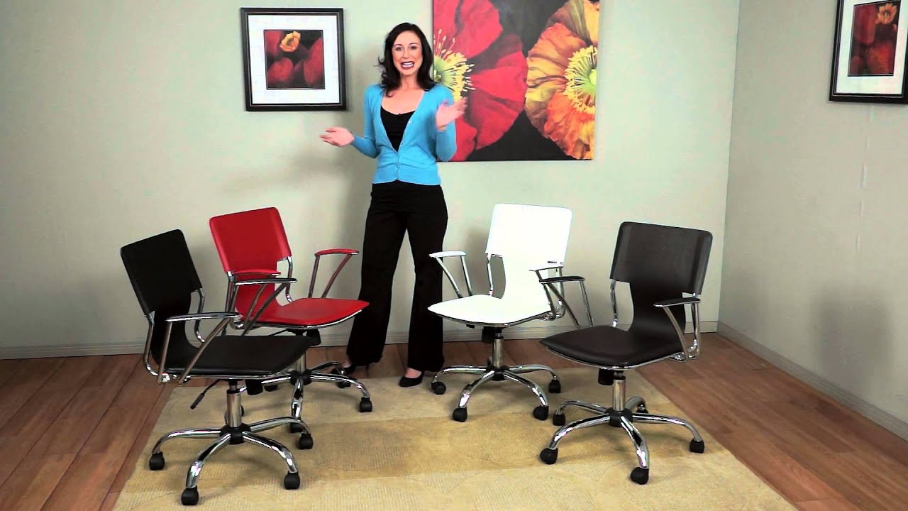 Dorado Office Chair Steel Images By Ave Six Youtube