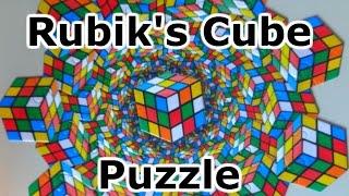 Rubik's Cube Puzzle Unboxing