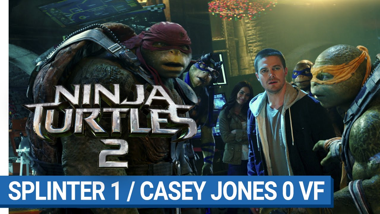 NINJA TURTLES 2 - Splinter 1/Casey Jones 0 (VF)