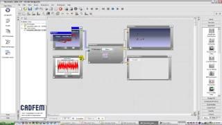 Видеоурок CADFEM VL1107 - Анализ усталостной долговечности рамы горного велосипеда в ANSYS nCode