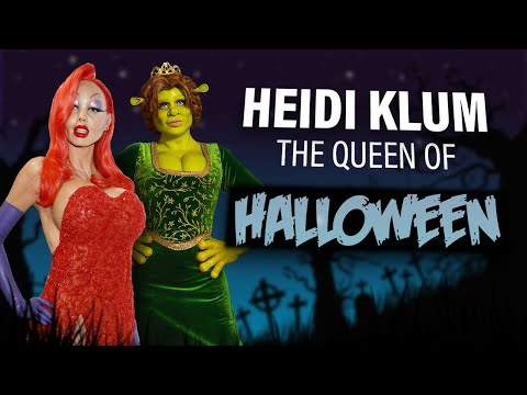 Heidi Klum, The Queen Of Halloween!!!