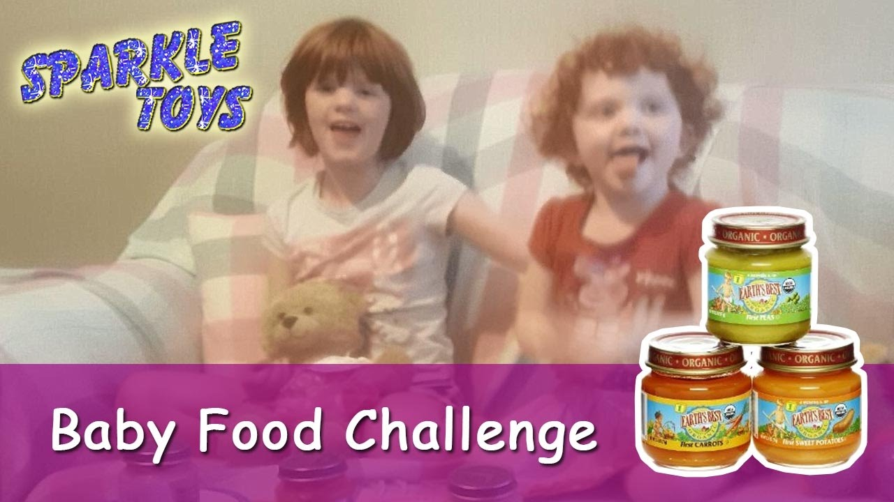 Baby Food Challenge Eat Fruit And Veg Sparkle Toys Youtube