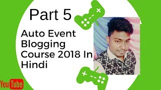 Setup WP Automatic Plugin And SEO | Auto Event Blogging Course 2018 In Hindi Part 5
