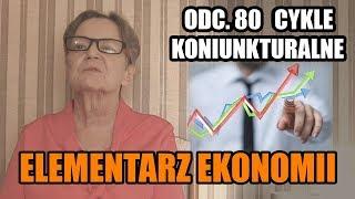 ELEMENTARZ EKONOMII odc.80 - Cykle koniunkturalne