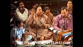 Allah Hoo Allah Hoo Ustad Nusrat Fateh Ali Khan OSA Official HD Video