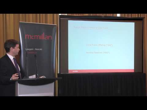 James Munro Presents: How Does a Company Go Public?