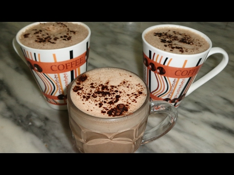 Chocolat chaud maison - كيفية تحضير الشوكولا الساخنة اللذيذة