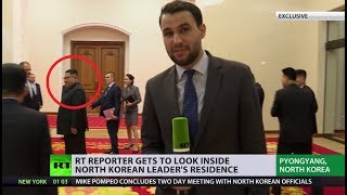 RT reporter gets EXCLUSIVE access to Kim Jong-un's residence in N. Korea