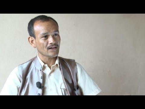 Hom Narayan Shrestha- Chairman of Rural Municipality- Jugal, Sindhupalchok