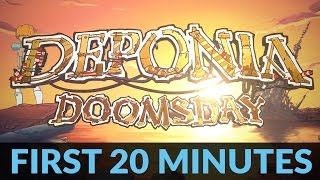 Deponia Doomsday Gameplay: First 20 Minutes | PC Steam