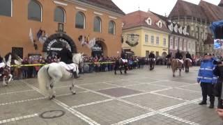 Brasov - Piata Sfatului - Parada Junilor - 30 Apr 2017