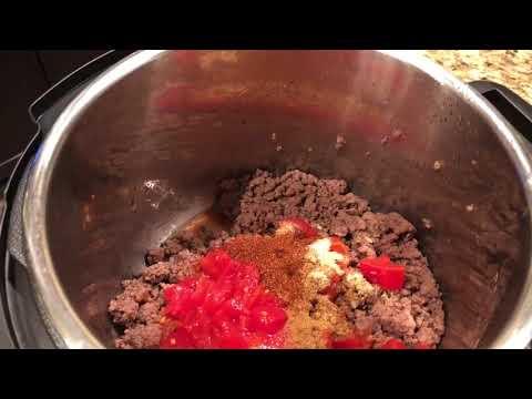 Keto Instant Pot Taco Soup