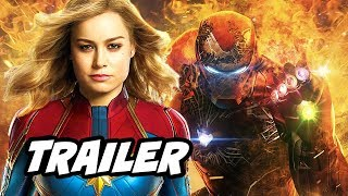 Captain Marvel Trailer - New Avengers Endgame Plot Teaser Breakdown
