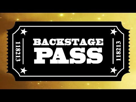 Back Stage Pass Aug 17th Research Techniques