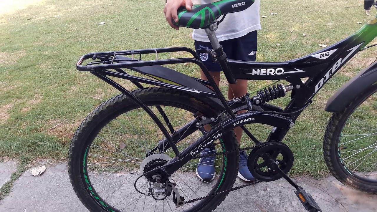 b934f8004a1 Hero Ranger 6 Speed Dtb Vx 26T Mountain Bike 26 T 6 Gear Mountain  Cycle(Black, Green)