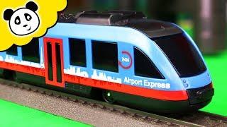 Märklin My World - Auf zum Flughafen! - Die Airport Express Hochbahn! - Pandido TV