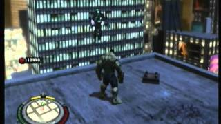 The Incredible Hulk (PS3) - free roam gameplay part 9 (HD)