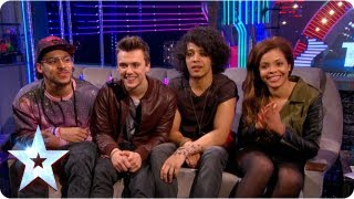 Stephen chats with Luminites and Pre-Skool | Semi-Final 3 | Britain's Got More Talent 2013
