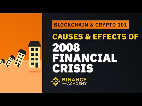 Causes & Effects of 2008 Financial Crisis|Explained For Beginners