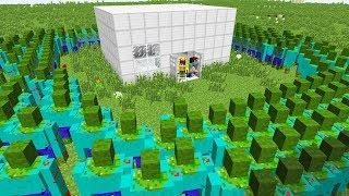 10000 TANE MUTANT ZOMBİ VS ISMETRG VE NOOB! - Minecraft