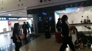 NMB48到達香港(part1)