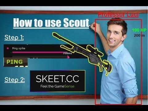 scouting kids with my hack | HvH ft. skeet.cc