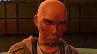 Sith Warrior is a Dick to Old Jedi Master Yonlach (SWTOR   Dark Side) thumbnail