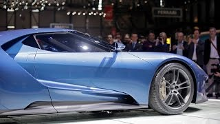 Ford Shows Off the GT in Europe at Geneva Motor Show